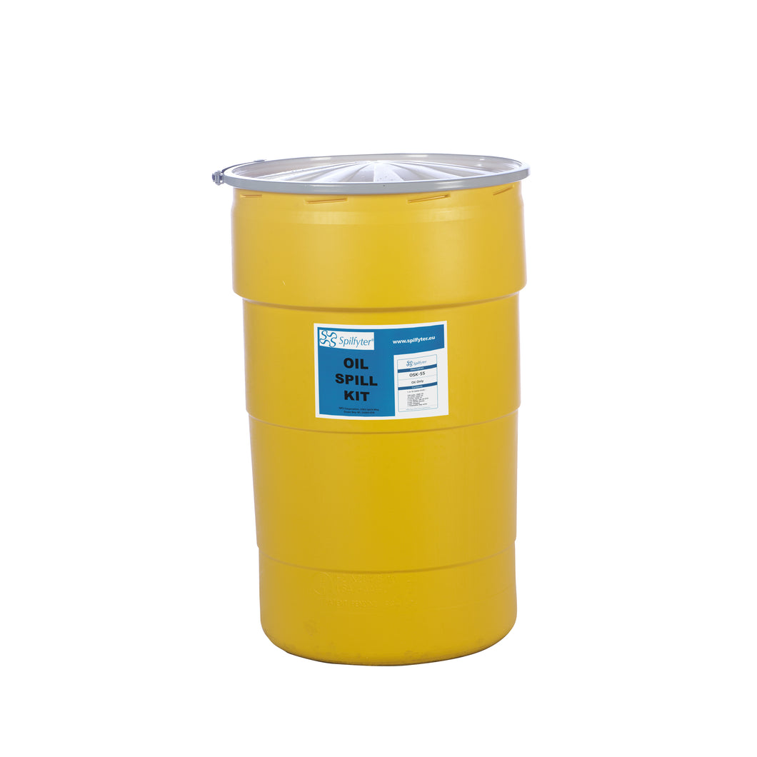 Drum spill kit 200L OIL ONLY - Industrial Labelling supplies