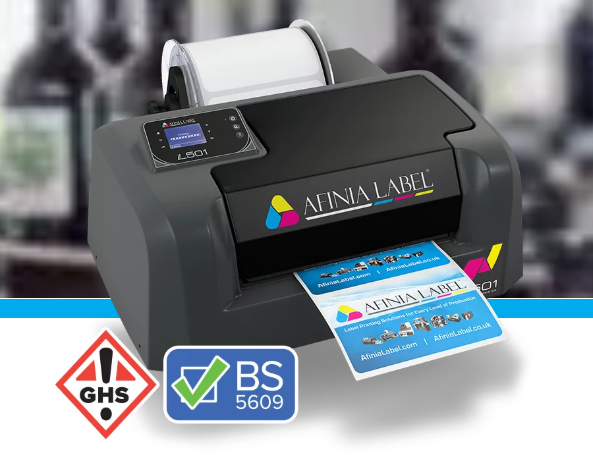 Afinia L501 Full color label printer - Industrial Labelling supplies