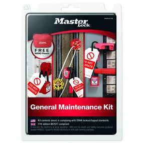 MAINTKIT-EN - Maintenance Lockout kit - Industrial Labelling supplies
