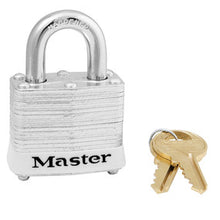 laminated steel safety padlock, 40mm wide with 19mm tall shackle - Industrial Labelling supplies