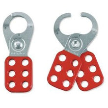 Steel Lockout Hasp, 1-1/2in (38mm) Jaw Clearance - Industrial Labelling supplies