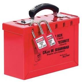 Latch Tight™ Portable Group Lock Box - Industrial Labelling supplies
