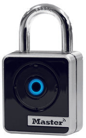 47mm wide Master Lock Smart padlock; Bluetooth; indoor use - Industrial Labelling supplies