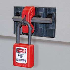 Grip Tight™ Plus Circuit Breaker Lockout Device - Miniature Circuit Breakers (120/240 V) - Industrial Labelling supplies