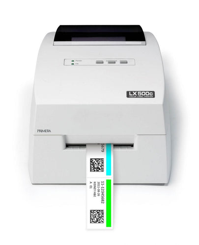 Primera LX500 Full color label printer - Industrial Labelling supplies