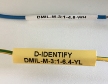 DMIL-M-3:1-4.8-1K-WH - Industrial Labelling supplies