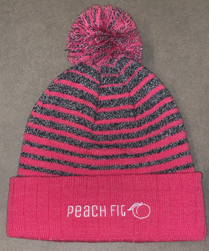 Peach Fit Breast Cancer Awareness Beanie