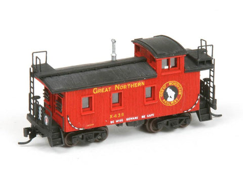 25ft Caboose - N Scale