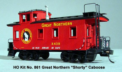 25ft Caboose - HO Scale
