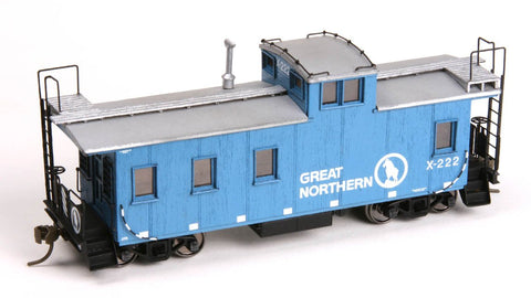 30ft Plywood Caboose - HO Scale
