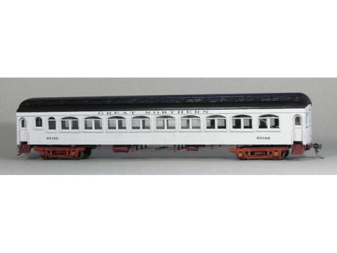 GN 62 ft Oriental Limited coach #800-852 kit - HO Scale