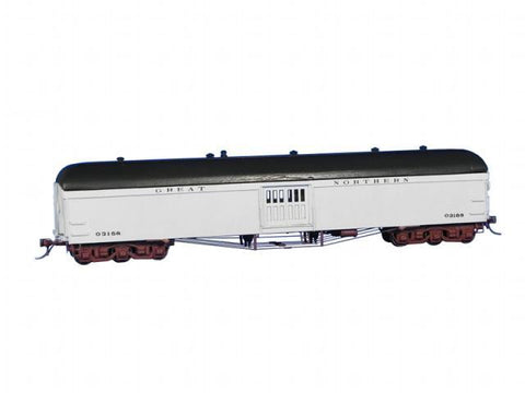 GN Baggage Car Kit ? Arch Roof - HO Scale