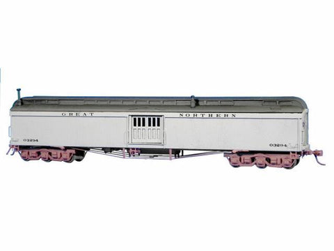 GN Baggage Car Kit ? MOW - HO Scale