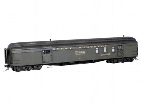 GN Baggage Mail and Express Cars #72-93 kit - HO Scale
