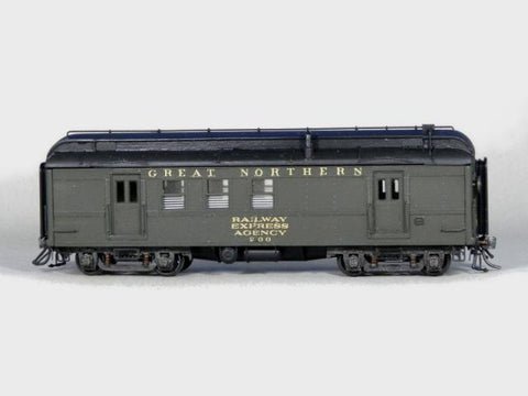 GN 40? Baggage Cars  200 & 201 kit - HO Scale