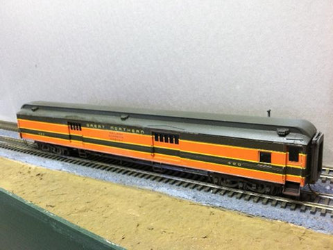 Great Northern Rider Baggage Car - HO Scale