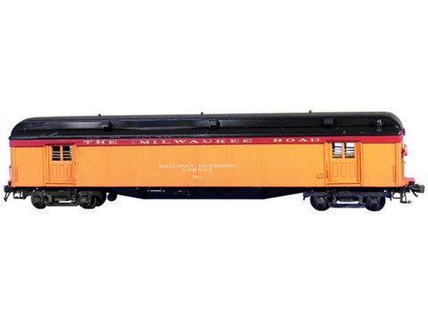 "Milwaukee Baggage Car ""GN Fast Mail"" - HO Scale"