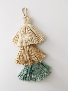 Yellow Blue Tassel