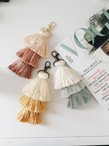 Dusty Blue Tassel