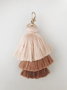 Dusty Pink Tassel