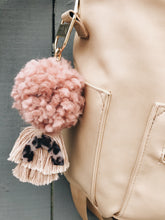 Load image into Gallery viewer, Tortoise Pom tassel