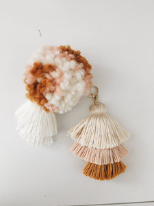 Pink & Honey tassels