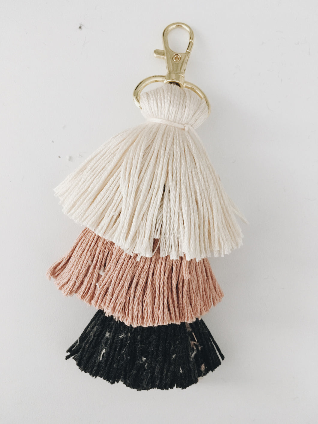 Black Rose Tassel