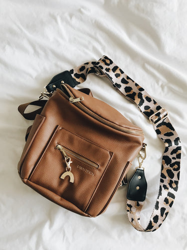 Pink Cheetah Bag Strap
