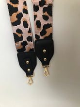 Load image into Gallery viewer, Pink Cheetah Bag Strap