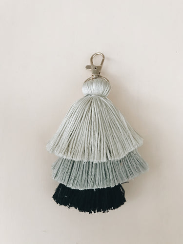 Grey Neutral Tassel