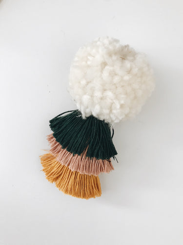 Fall Three Layer Pom