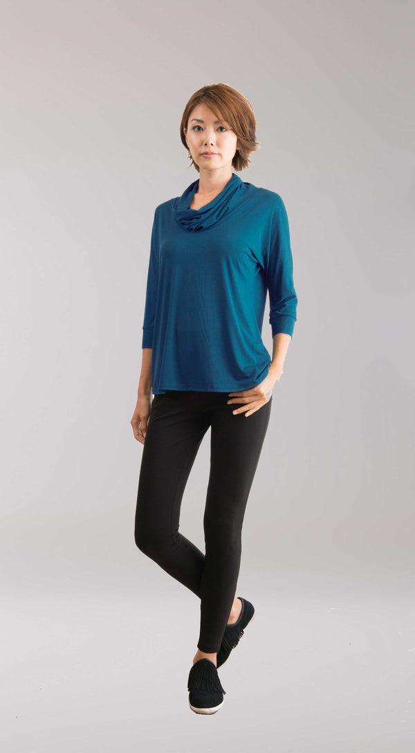 Anais Top Dark Teal