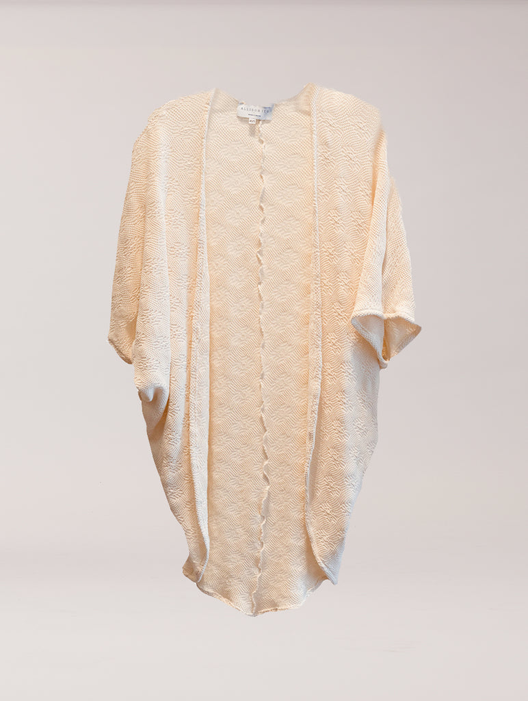 Norah Cover Up Creme Lace Sweater