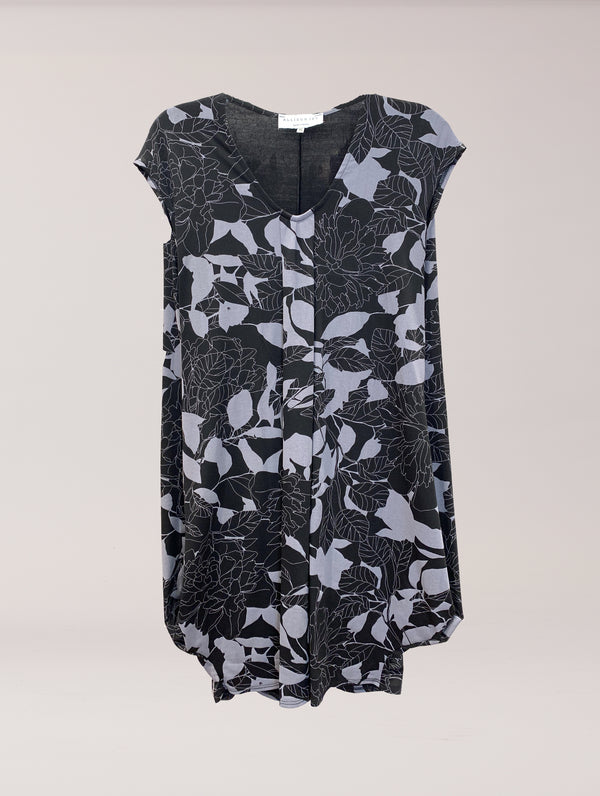 Natasha S/S Dress New Moon Floral