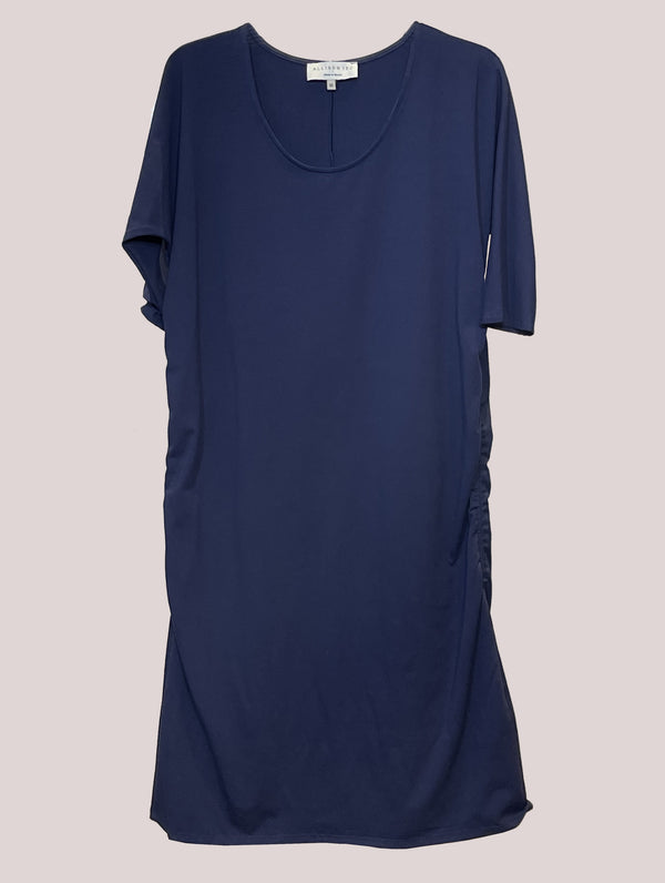 Addi Dress Navy Cotton