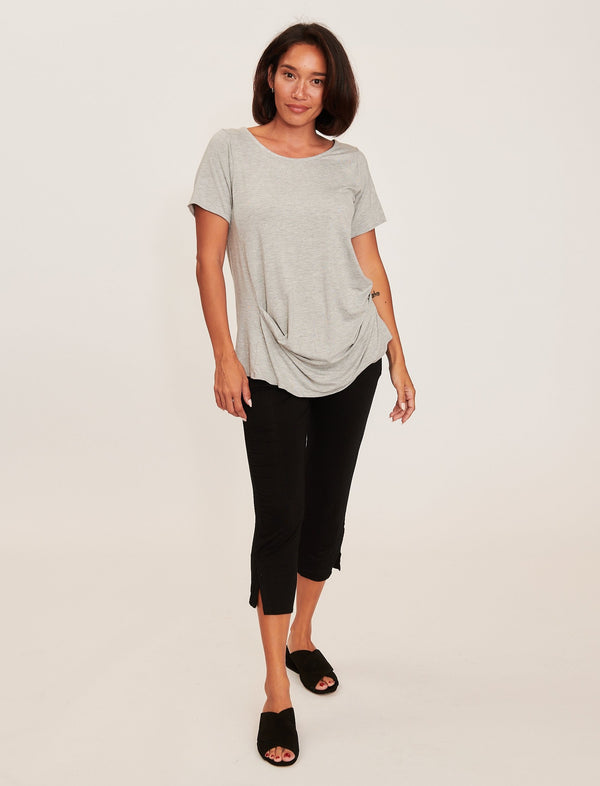 Marcie Top Heather Grey