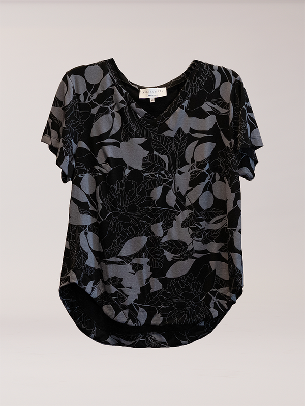 Becca V Neck New Moon Floral