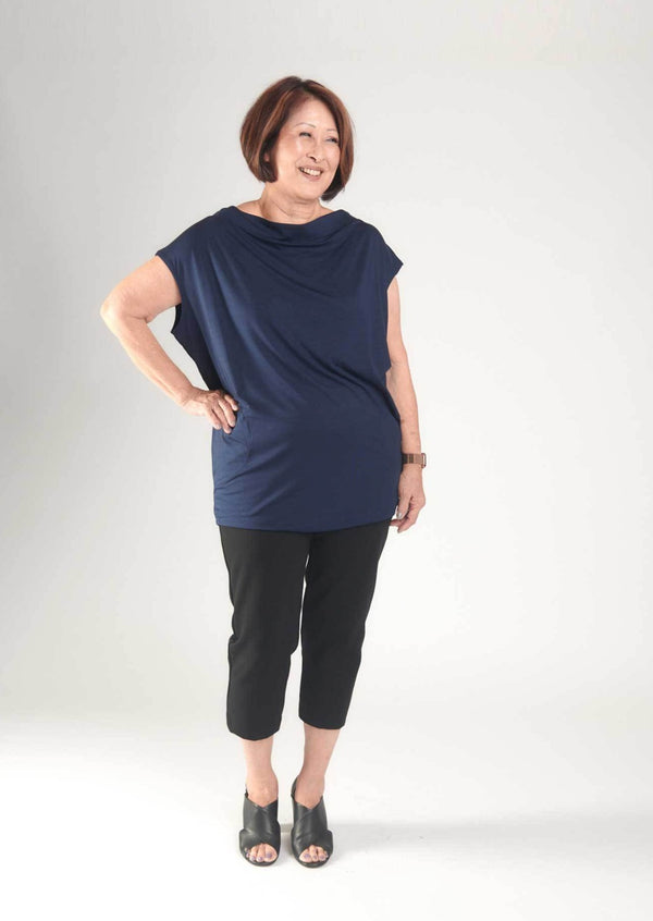 Claire Top Navy