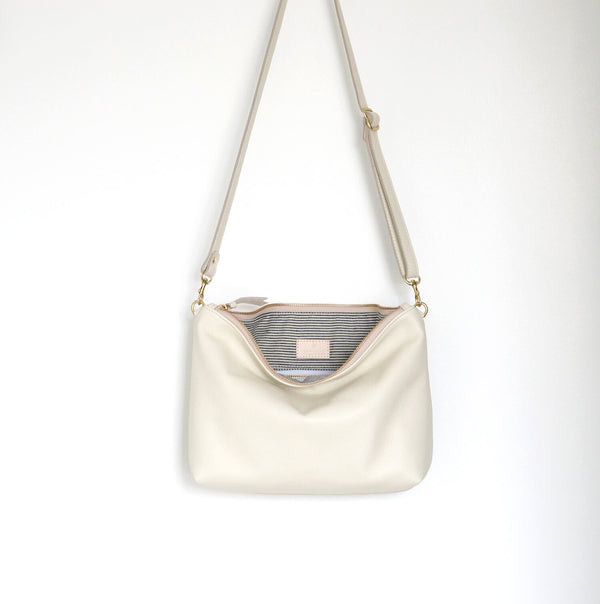 Midi Leather Hobo