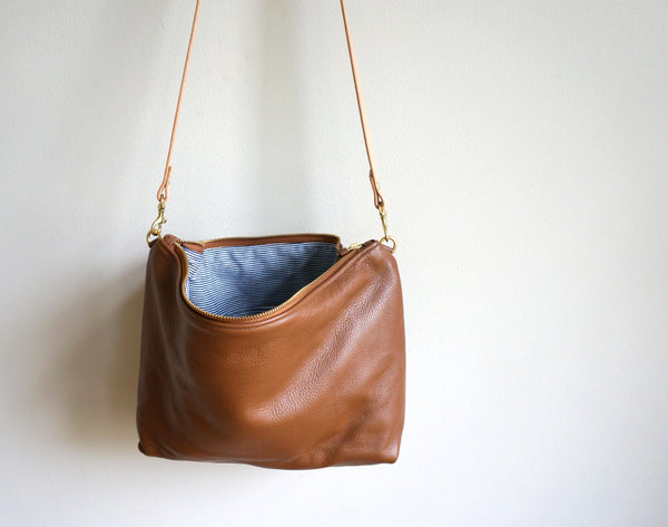 Umbrella Collective Leather Crossbody Bag