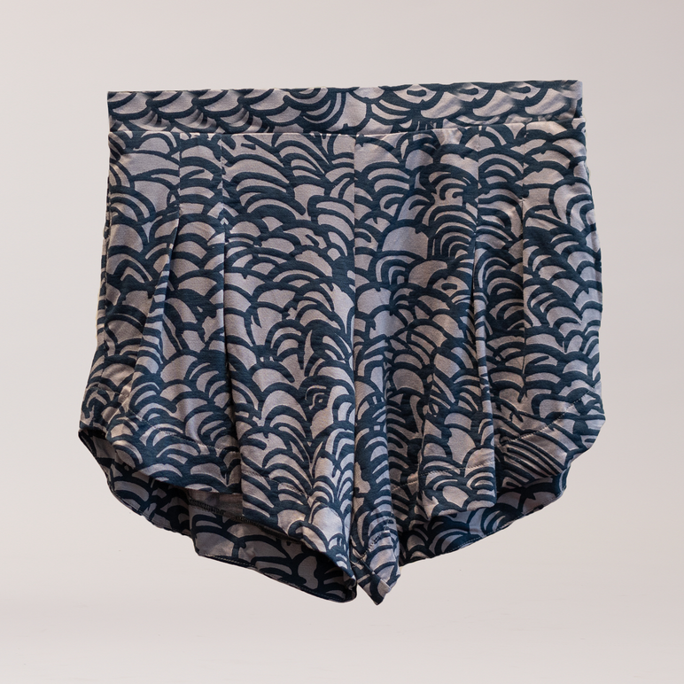 FINAL SALE-Diamond Head Short Navy Wave