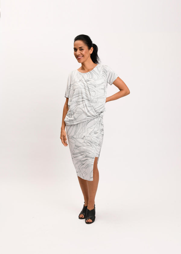 Helena Dress Glacier Calyx (Web Exclusive)