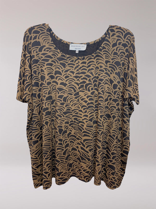 FINAL SALE - Joanna Top Golden Wave