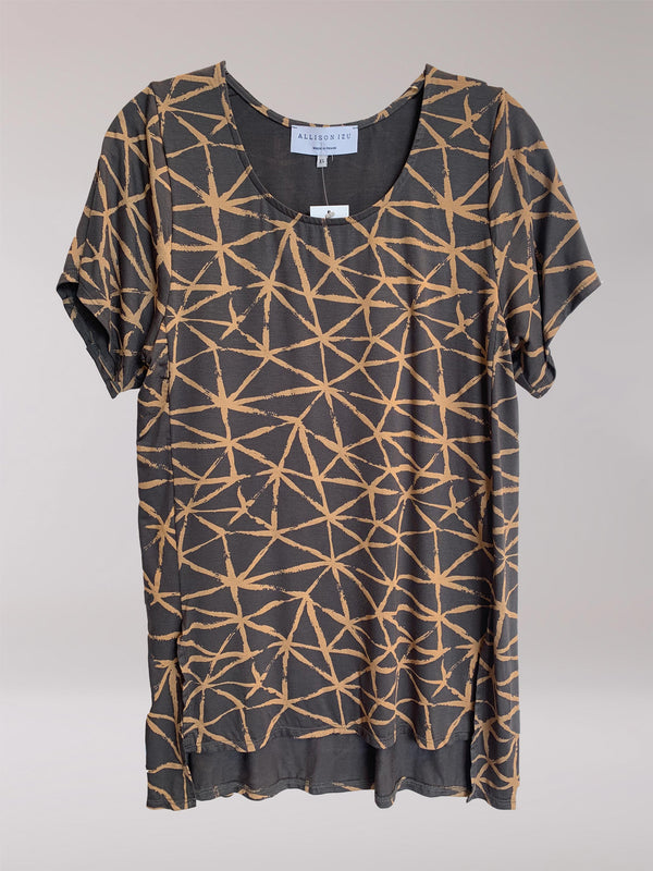 FINAL SALE - Mandy Top Gold Fissure