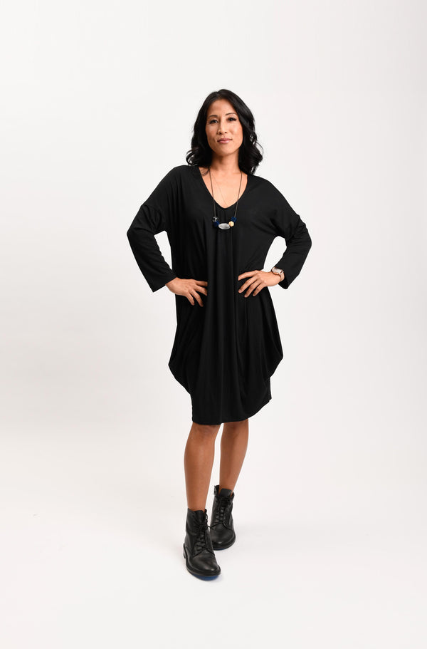 Natasha Dress Black