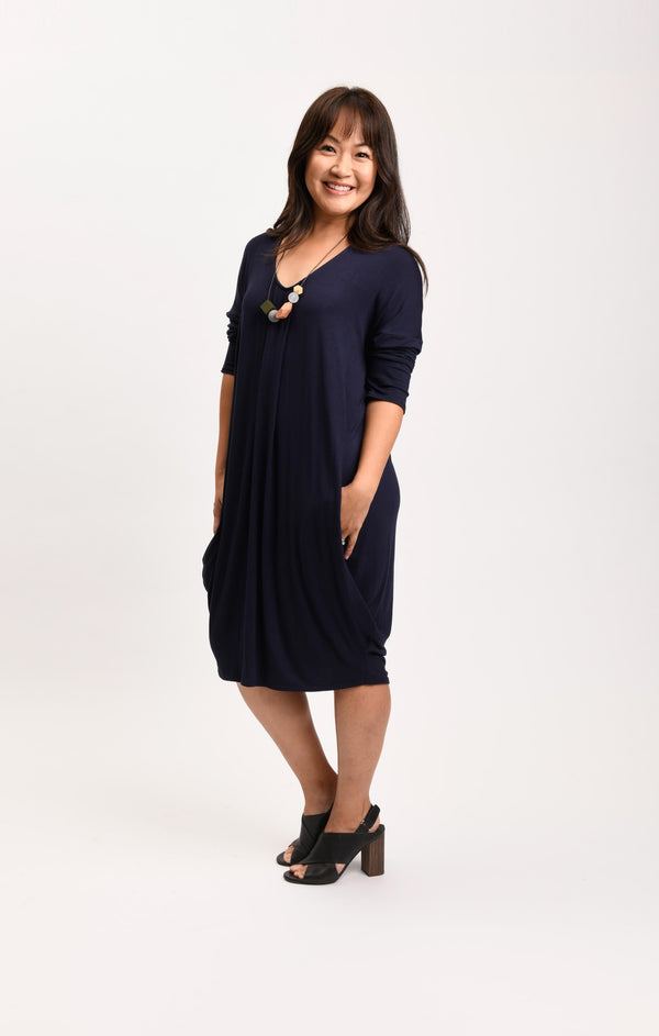 Natasha Dress Navy