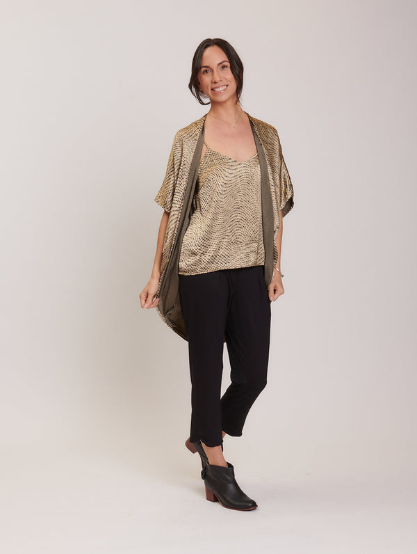 Norah Cover Up Gold Python