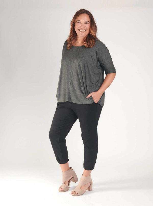 Raynelle Top Charcoal