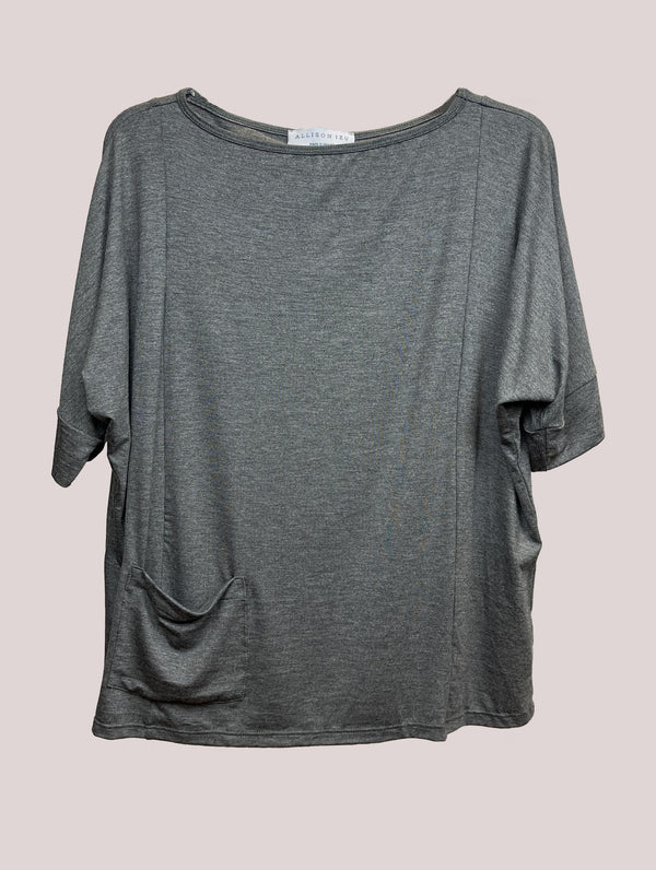 Sami Top Grey Melange