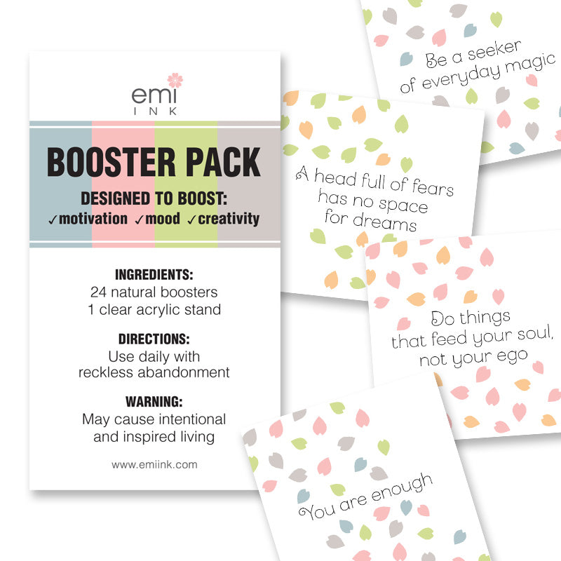 Emi Ink Booster Pack